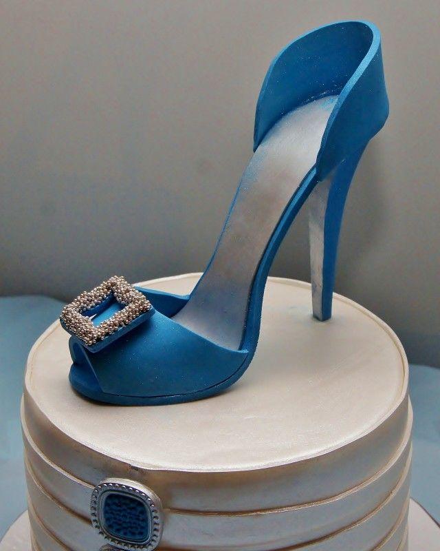Stiletto Heel Cake Topper